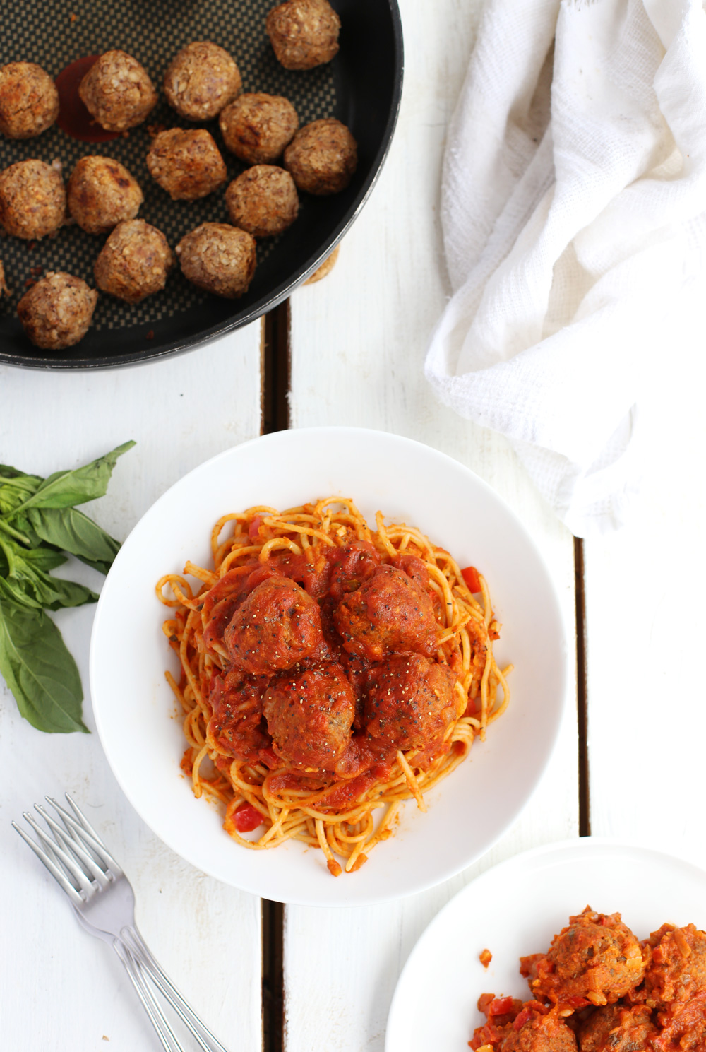 2-Ingredient Vegan Meatballs