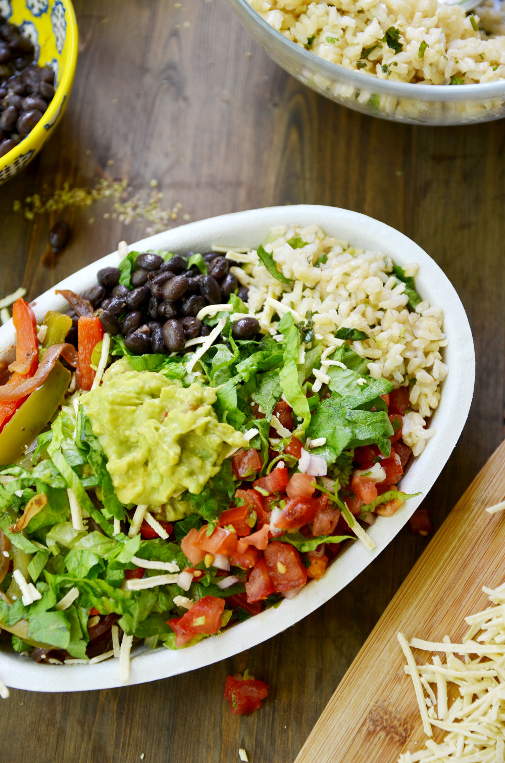 Making Chipotle Chicken Bowl At Home