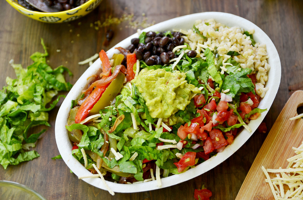 Image result for chipotle meal