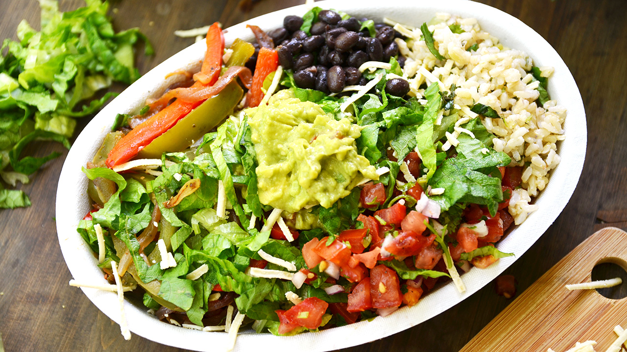 Make A Burrito Bowl At Home