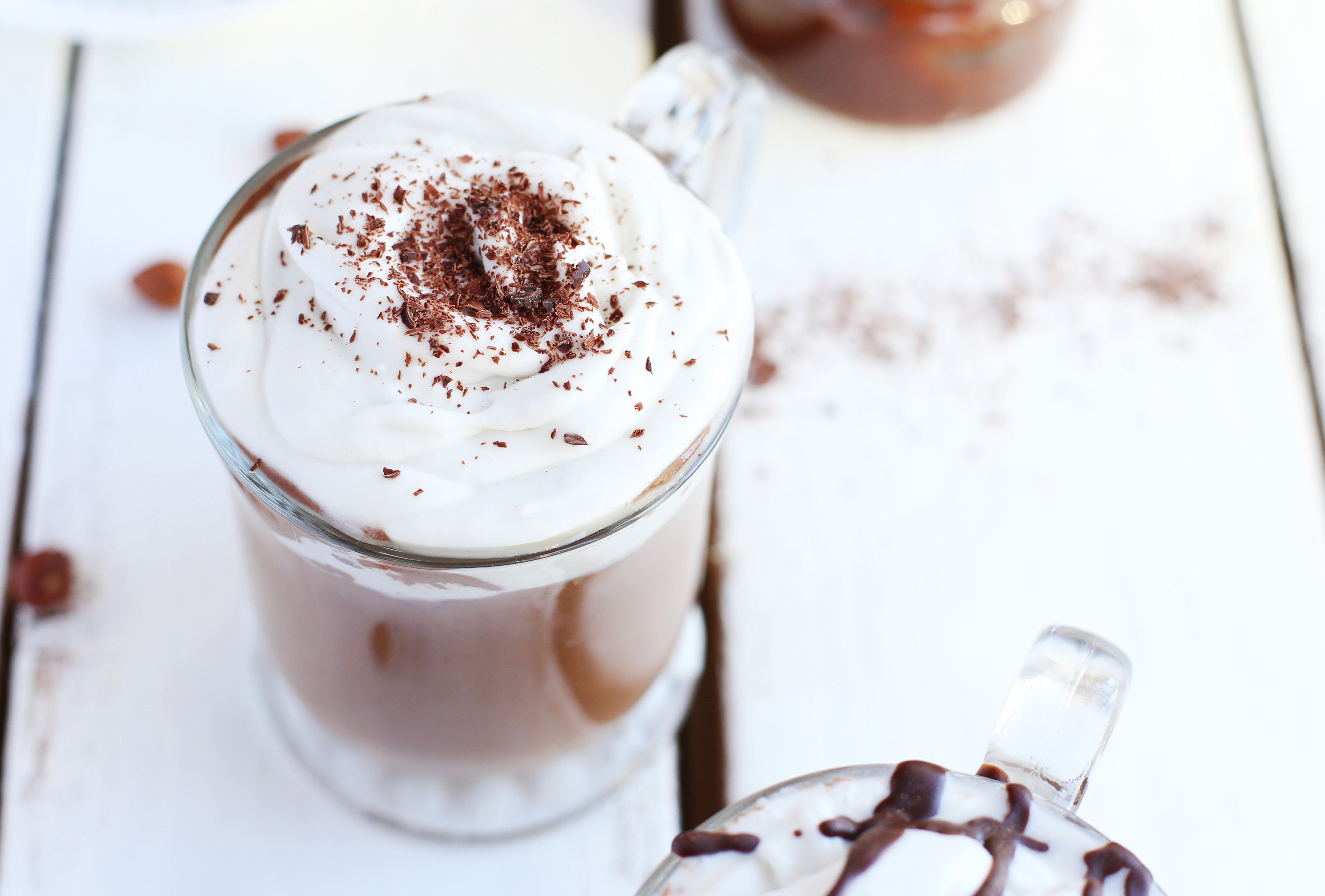 DIY Nutella Hot Chocolate - Fablunch