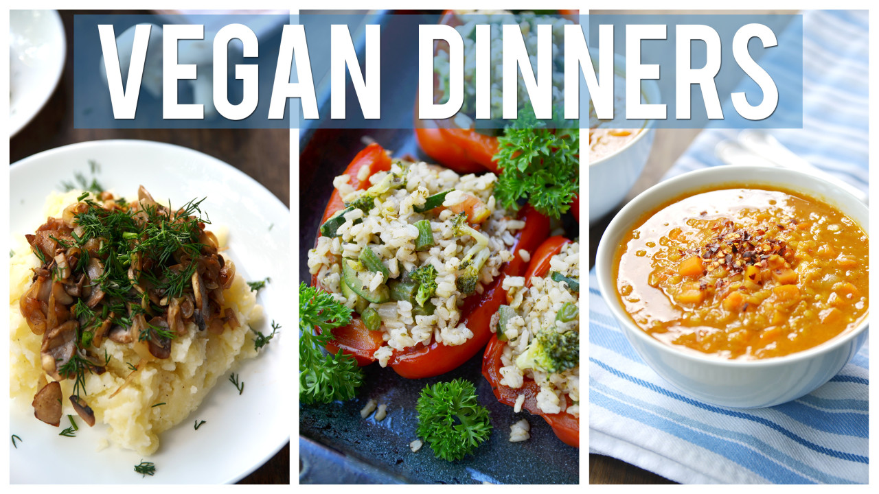 3 Affordable Vegan Dinner Recipes