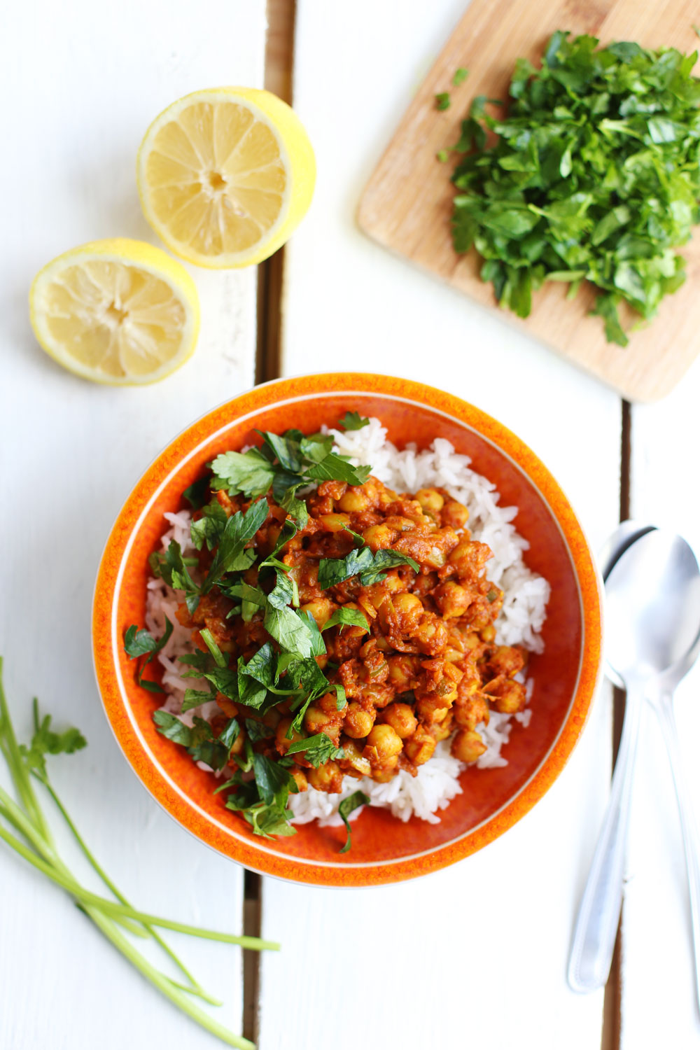 3 vegan lunch ideas under 150 fablunch easy chana masala forumfinder Choice Image