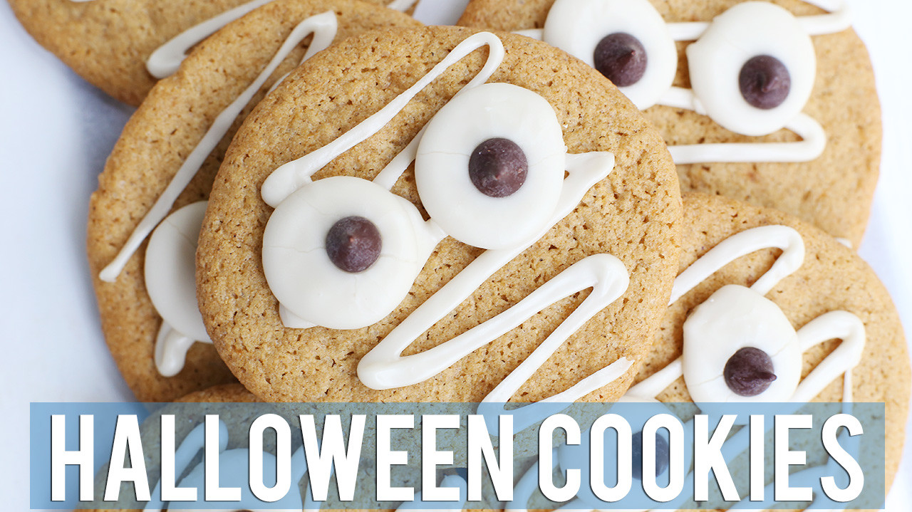 Vegan Sugar Cookies for Halloween