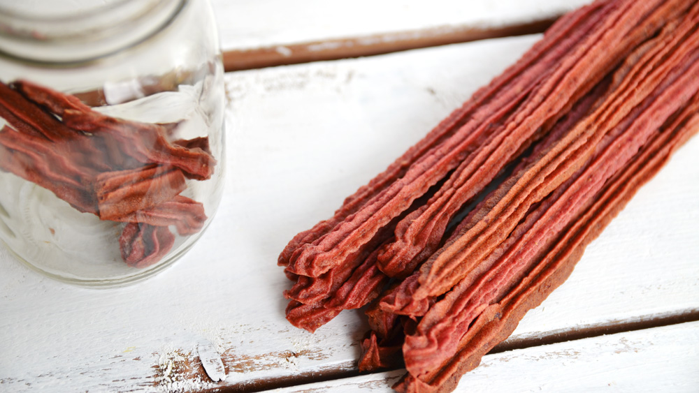 Homemade Twizzlers