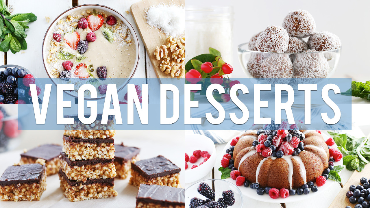 4 Easy Vegan Desserts