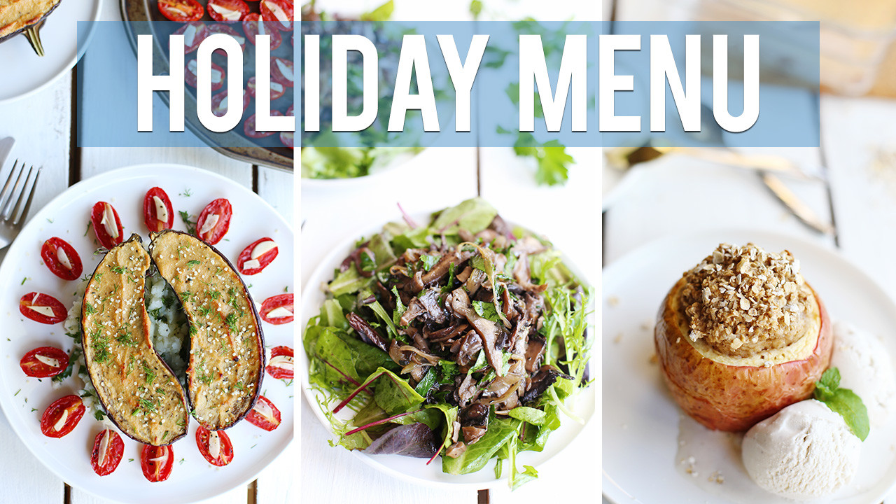 3-Course Vegan Holiday Menu