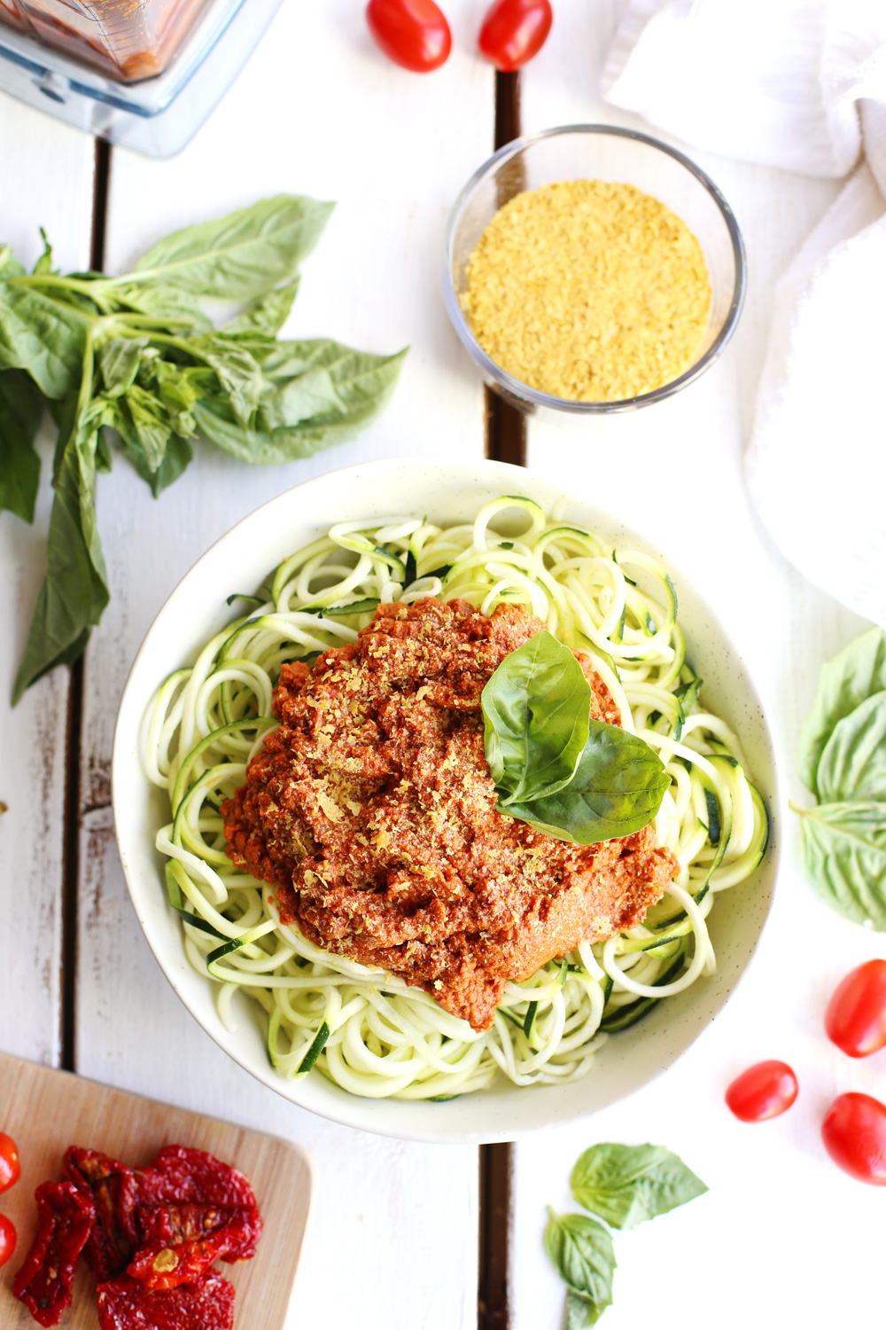 Raw Vegan Pasta Sauce