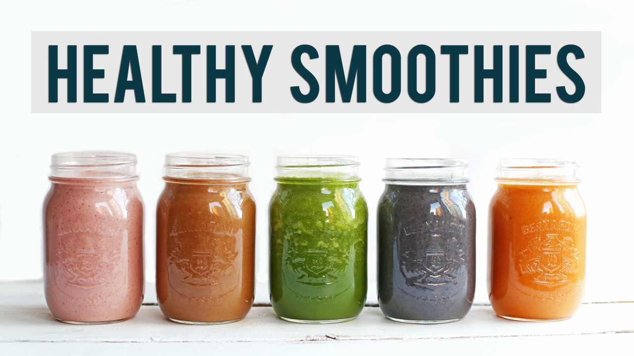 5 Healthy Breakfast Smoothies