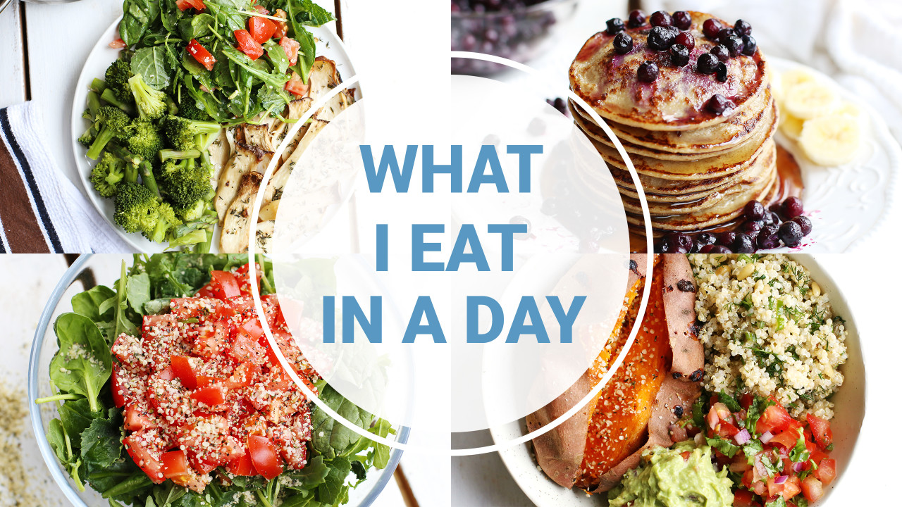What I Eat In A Day – SPRING
