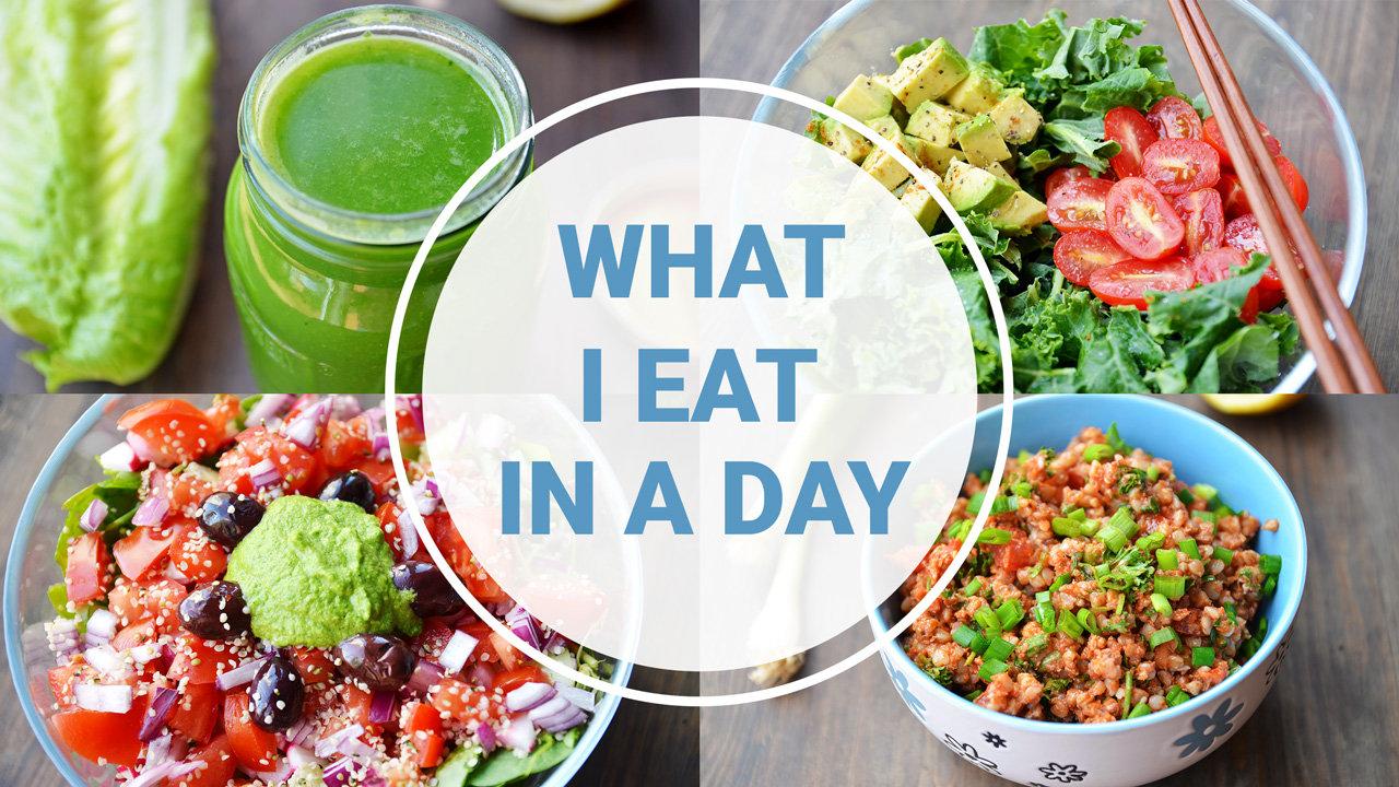 What I Eat In A Day Healthy Vegan Fablunch