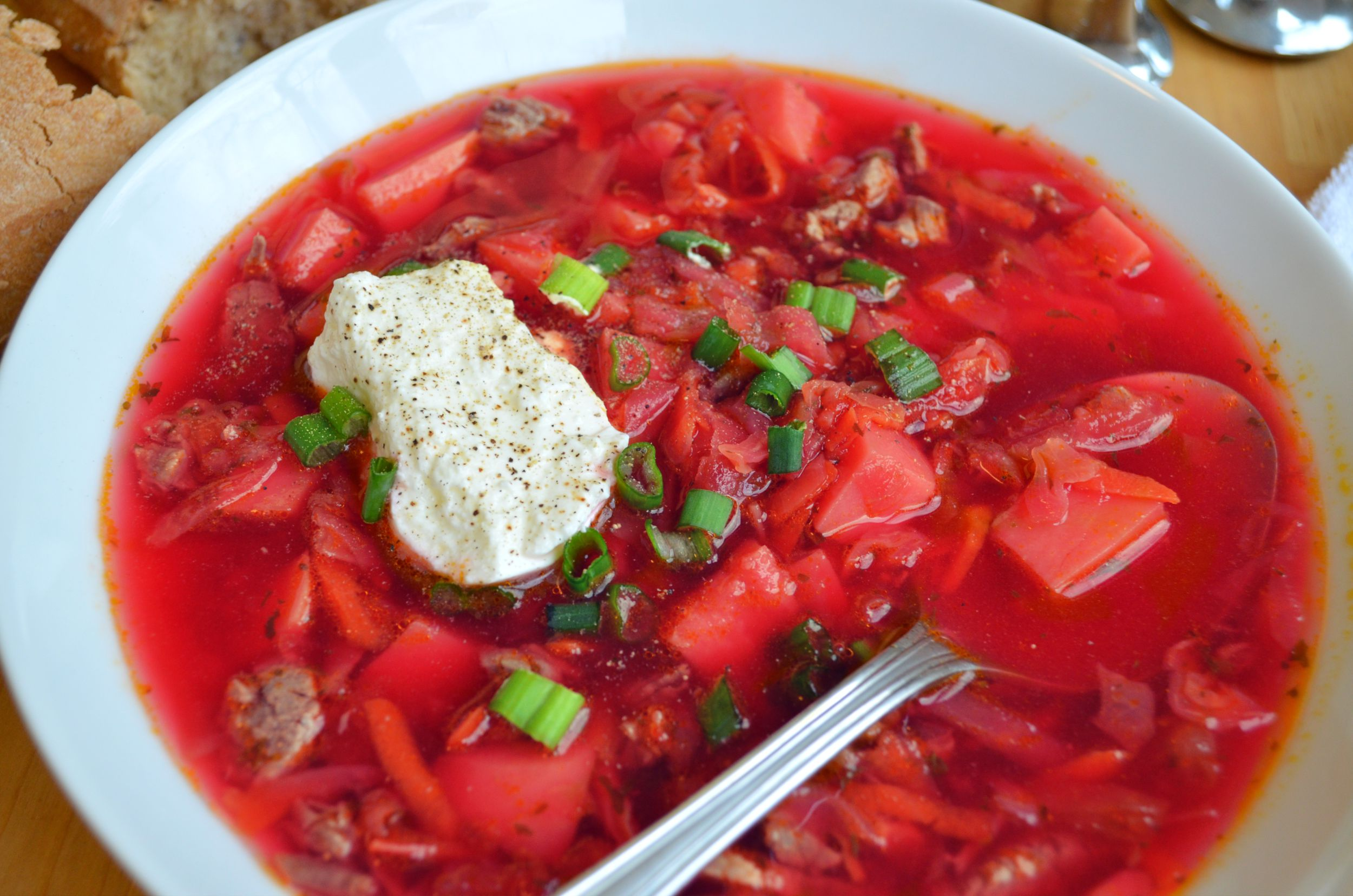 Authentic Russian Borscht with Beef Recipe - Fablunch