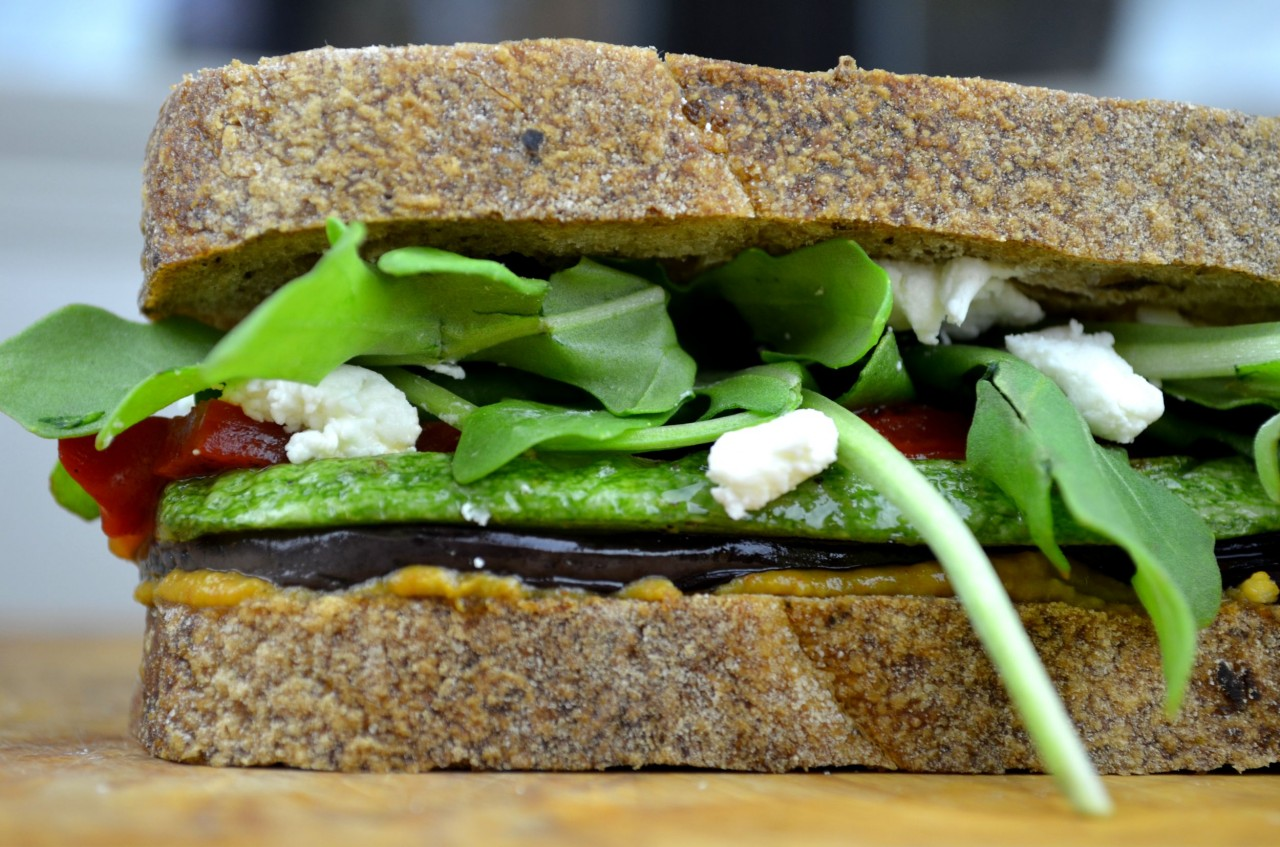 Delicious Grilled Vegetable Sandwich by Fablunch