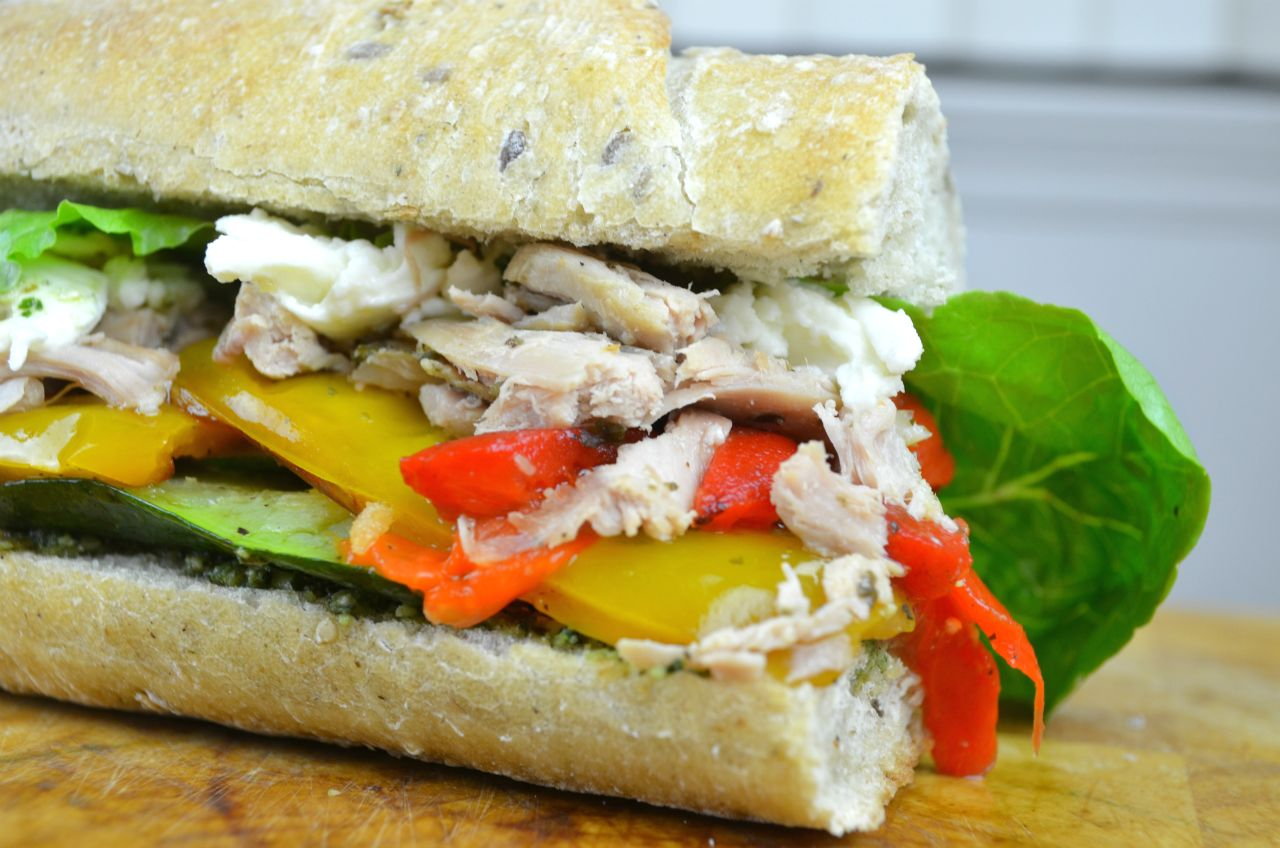 Best Leftover Turkey Sandwich by Fablunch