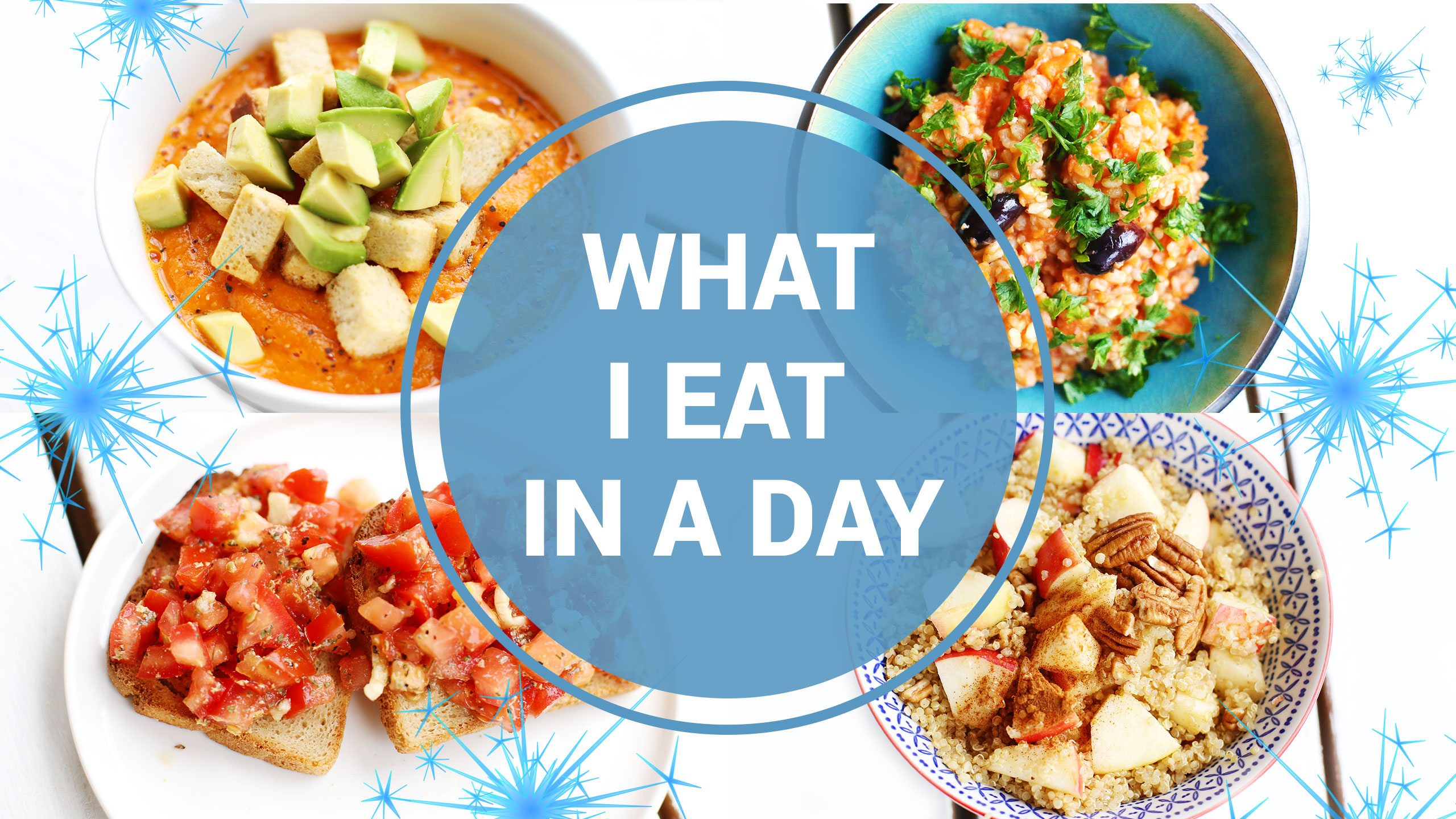 What I Eat In A Day {Winter} | VEGAN + HEALTHY - Fablunch